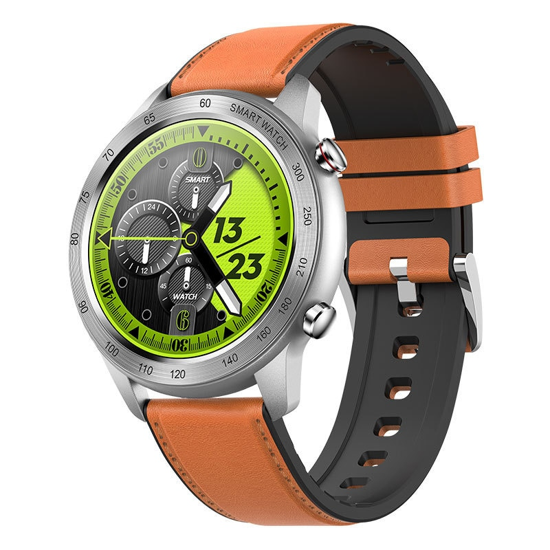 New mx5 Bluetooth call full circle full touch heart rate blood oxygen sleep custom dial sports smart watch ring enlarge