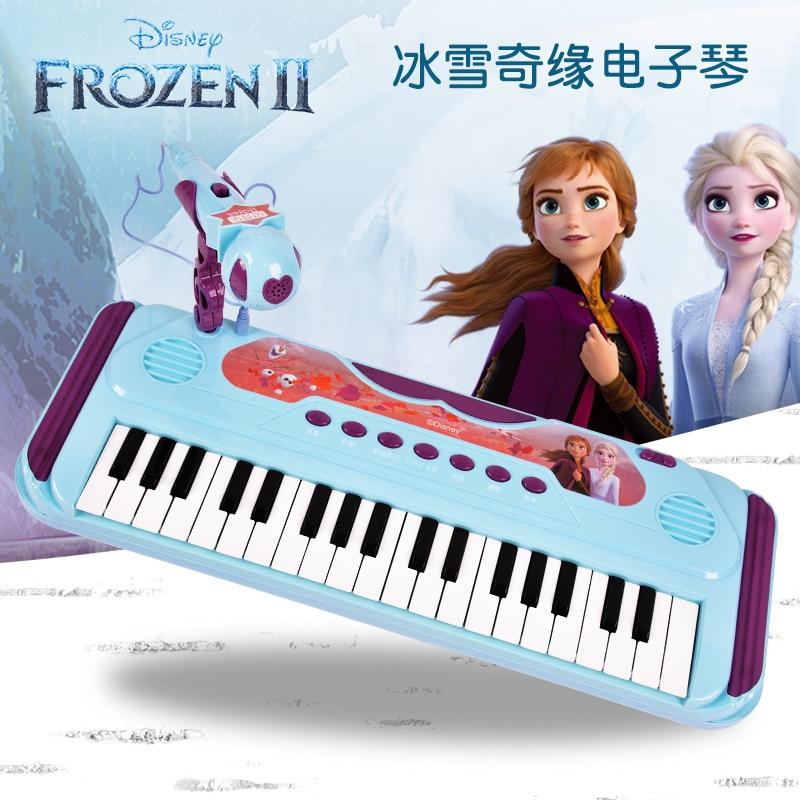 brinquedo de piano com teclado e princesas da disney brinquedo educativo para meninas frozen 2 37