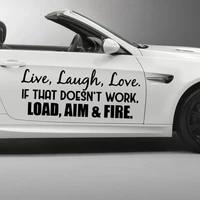 hot text car decal fashion cartoon car sticker window decoration personality vinyl decals