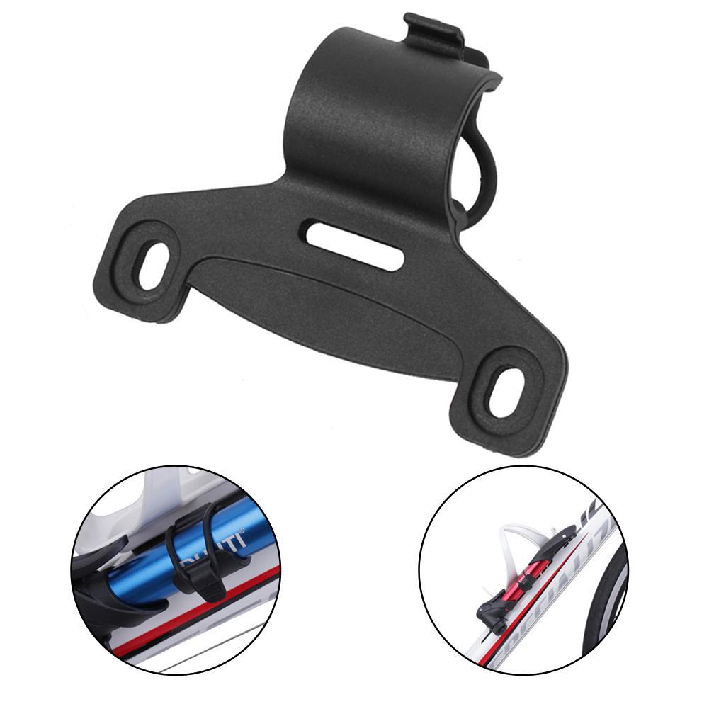 Novo 1 pçs 20 mm titular da bomba de bicicleta portátil ciclismo adereços suporte fixo retenção montagem cabida clipe acessórios