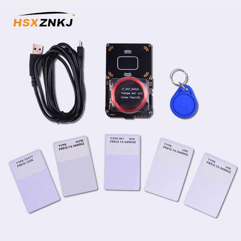 Proxmark3-قارئ بطاقة NFC RFID ، 512 ميجاهرتز ، قابل للتغيير ، استنساخ بطاقة MFOC ، مصدر الكراك ، مع ملصق 13.56 ميجاهرتز