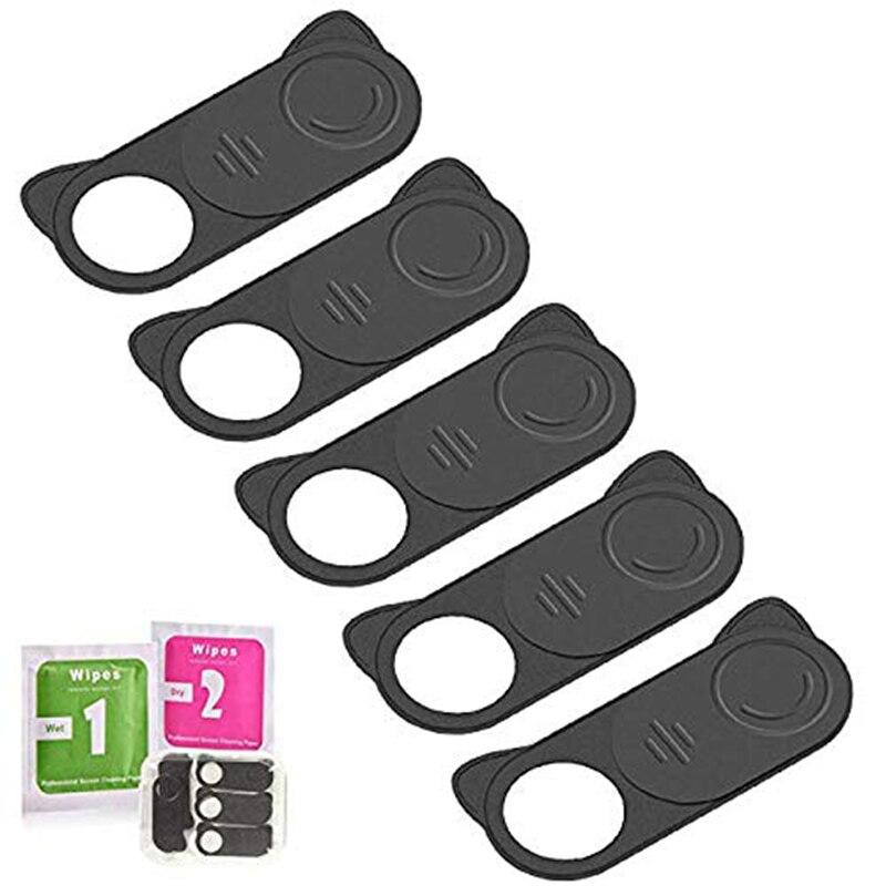 Webcam conjunto slider camera estojo para smartphone tablet m-acbook dell hp portátil e tudo-em-um desktop com adesivo resistente protecti