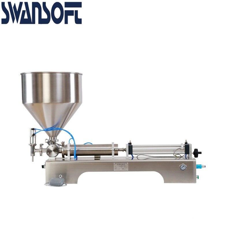Машина для наполнения крема-пасты SWANSOFT oney соус пневматический наполнитель шампунь лосьон поршневой гель моющее средство 5-500 мл диапазон