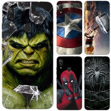 Superhero Phone Case Cover For ZTE Blade L8 A3 A7 A5 2019 2020 Superman Cover For Blade V10 V9 Vita Axon 10 Pro 5G A7S Fundas