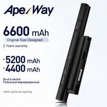 ApexWay Batterie pour Sony BPS22 BPS22A VGP-BPS22 VGP-BPS22A pour VAIO VPC-E1Z1E VPC-EB12FX VPC-EB1J VPC-EA1 VPC-EA1S VPC-EB1S