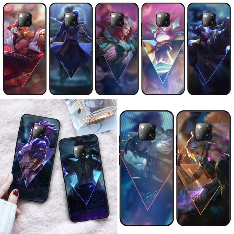 LJHYDFCNB League of Heroes Phone Case Cover For Huawei Mate 9 20X 10 30 20Pro 10 20Lite NOVA 3I 3E 4 5 5I PRO