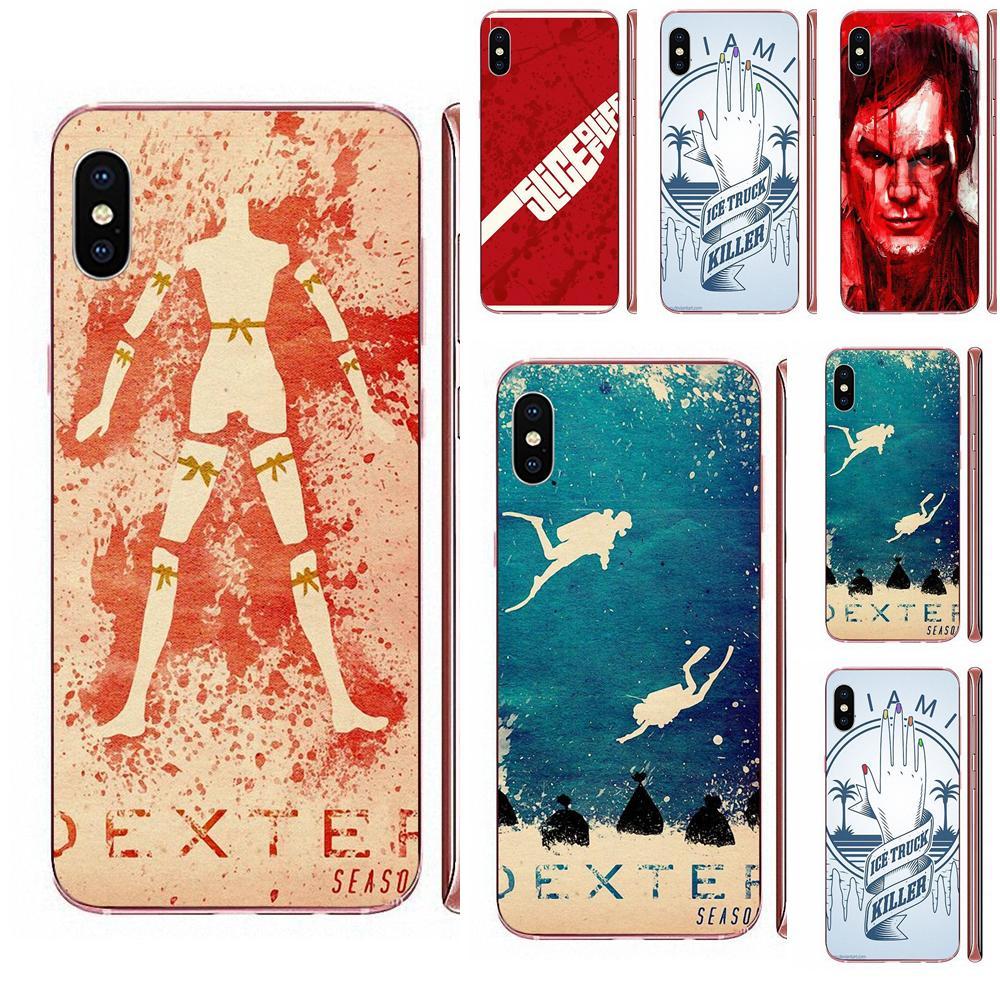 TPU Quinn Telefon Dexter Morgan Fan Kunst Poster Für Xiaomi Mi3 Mi4 Mi4C Mi4i Mi5 Mi 5S 5X 6 6X 8 SE Pro Lite A1 Max Mix 2 Hinweis 3 4