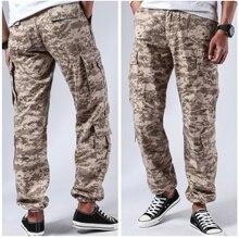 Męskie walki wojskowe taktyczne spodnie w stylu Cargo wiele kieszeni w stylu casual, biurowy trwałe spodnie Cargo