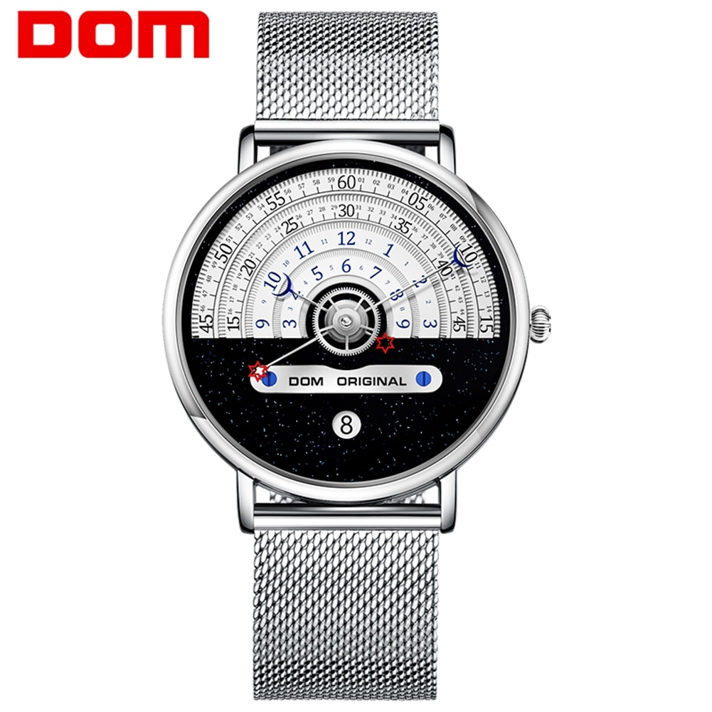 DOM 2021 Men Watch Creative Man Watches Male Wristwatch Luxury Men's Clock Reloj Mujer Bayan Saat