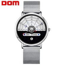 DOM 2021 Men Watch Creative Man Watches Male Wristwatch Luxury Men's Clock Reloj Mujer Bayan Saat