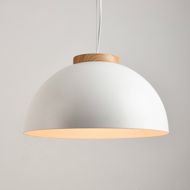 Modern LED Pendant Lights Wood  Light Fixture Nordic Simple Loft  Kitchen hanging Lamps home decor      WJ428