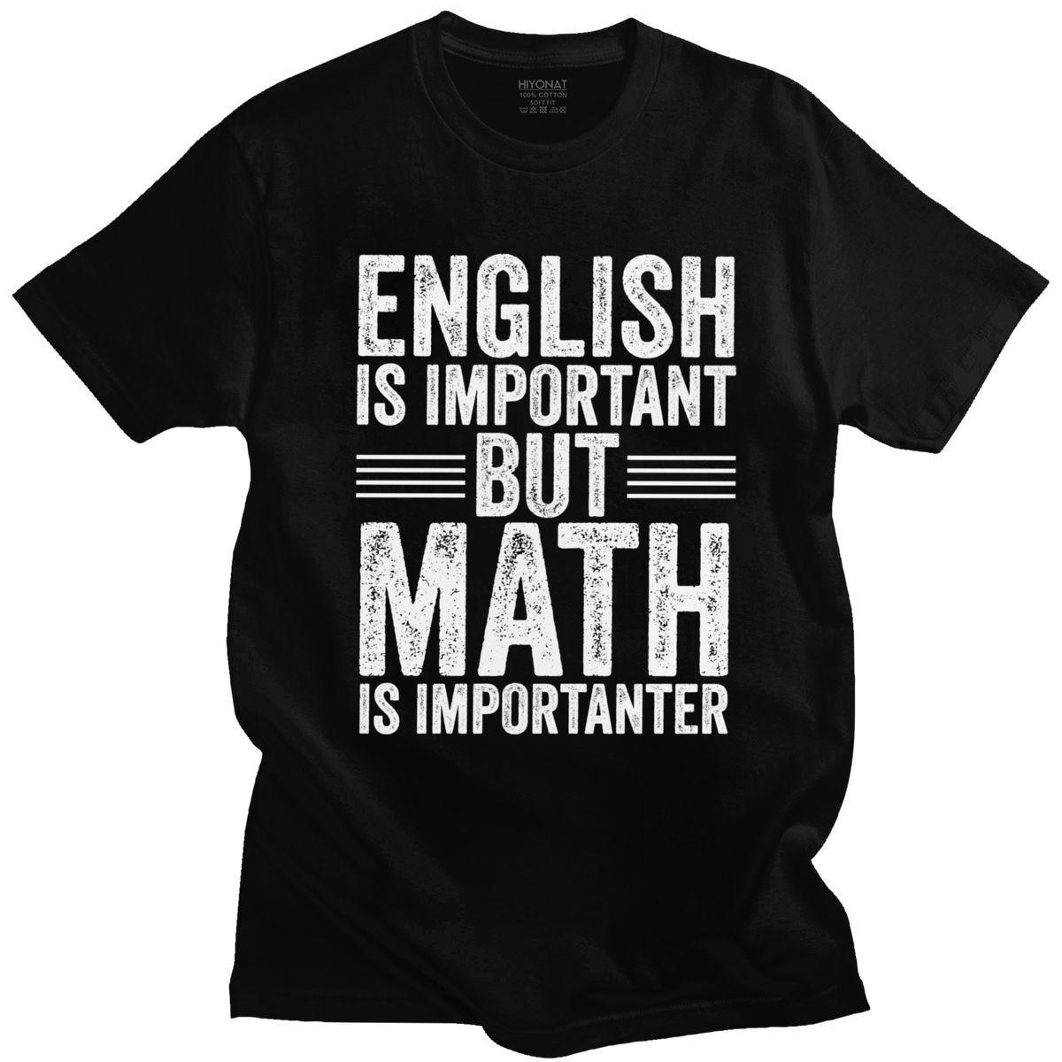 El inglés es important pero las matemáticas hijo Importanter de camisetas de...