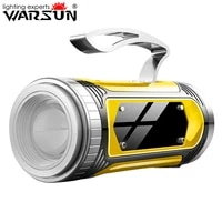 warsun hd60 t6 led blue lighting source rechargable fishling light with bracket and 10000 mah power bank function