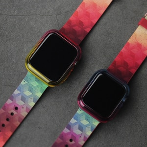 Newest Colorful watch band for apple watch 1 2 3 4 5 iwatch 38mm 42mm 40mm 44mm watch  watch strap