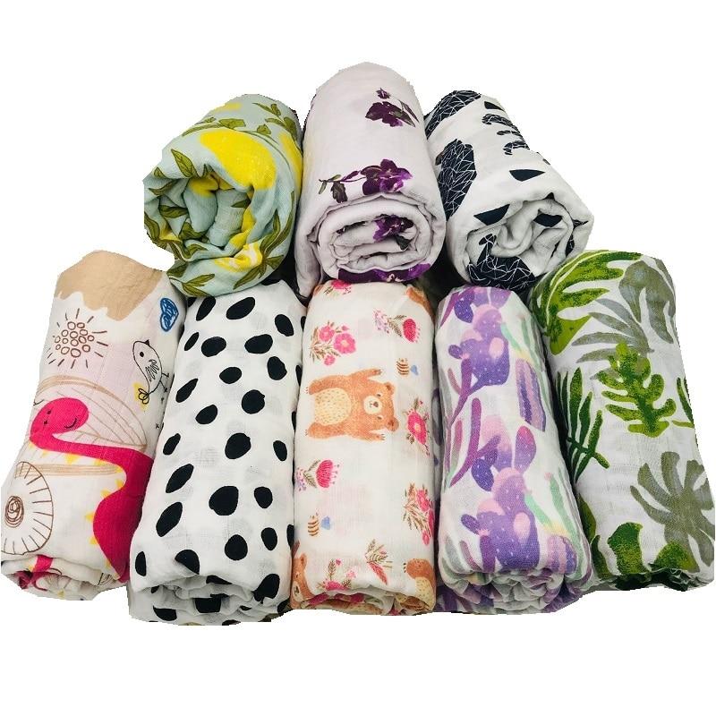 lashghg 100% cotton muslin baby blanket swaddle wrap for newborn better soft babies blankets bedding bath towel swaddling