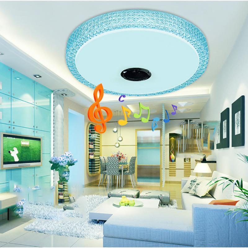 40 75w rgb moderno conduziu luzes de teto 80 cores casa iluminacao app para bluetooth