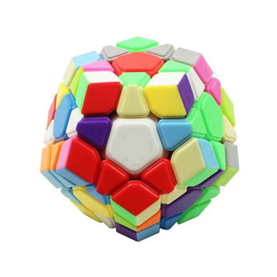 Classic Puzzle Magic Cube Puzzle Twist Toy Side Cube Neokub Mini Color Trending Cubo Magico Megaminx Speed Cube DD60MF