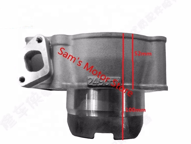 77MM 249CM3 ZONGSHEN NC250 T6 RX3 NV37 Motorcycle Cylinder Kits With Piston And Pin enlarge