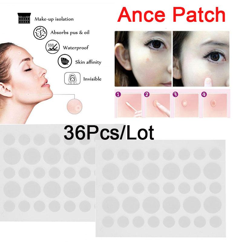 皮膚タグリムーバーパッチ36ピース-ロットにきびリムーバーにきび吸収カバー抗感染見えないハイドロコロイド治療スキンケア