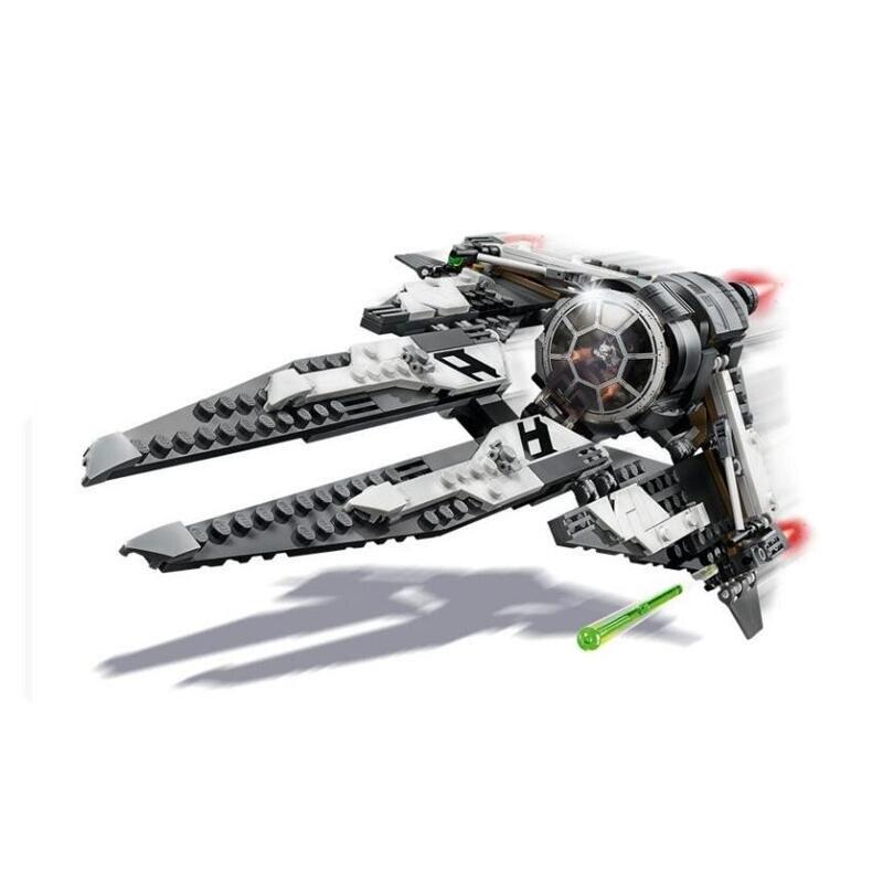 Nouveau StarWars Force réveille Tie Fighter Y aile avec blocs de construction jouets pour enfants 75242 75240