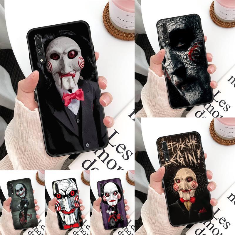 Die Jigsaw Mörder SAH Telefon Fall Für Huawei Mate 30 Pro P20 P30 P40 pro lite Y7 Y6 2019 fall für Honor 8X 8A 10 20lite 10i