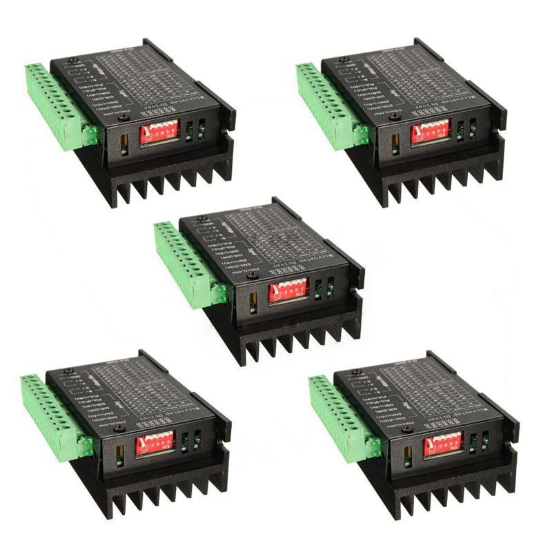 CNC أحادي المحور 4A TB6600 ، 5 قطعة ، محرك متدرج ، وحدة تحكم