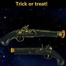36cm en plastique Pirate pistolet Halloween jeu de rôle accessoires enfants jeu de combat jouets enfants Festival cadeaux scène Performance accessoires