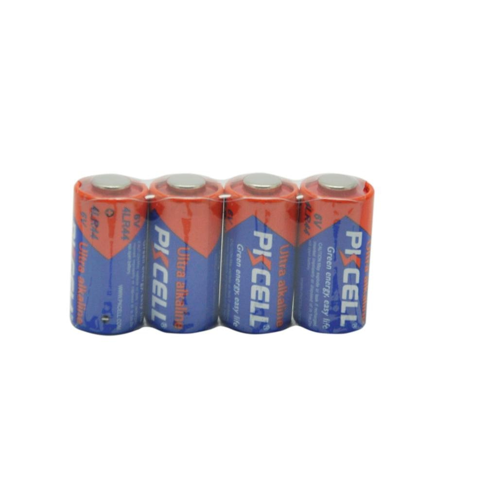4 Uds 4LR44 L1325 PX28A 476A A544 28A alcalina 6V baterías 145mAh capacidad Canadá Stock