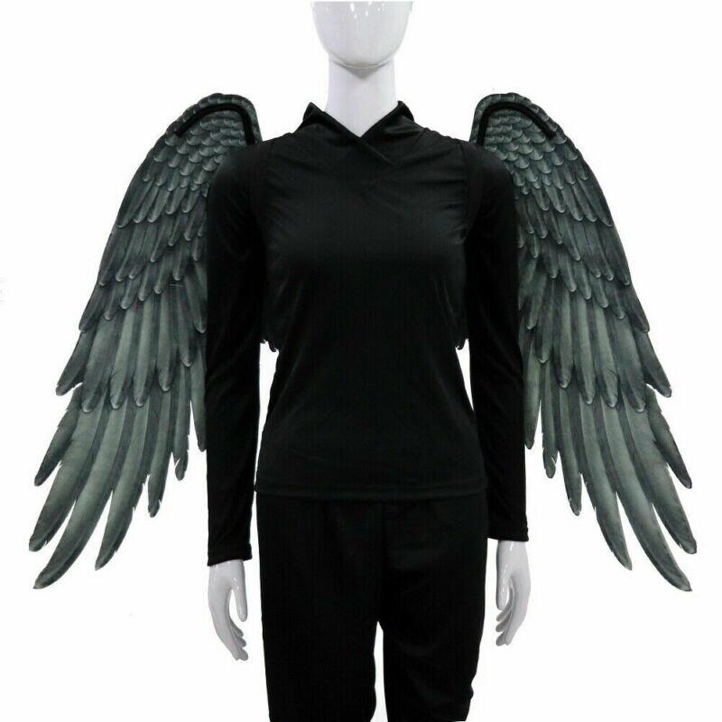 Хэллоуин 3D Крылья Ангела Хэллоуин Марди Гра тема Косплей Костюм для взрослых детей Новый Хэллоуин крылья дьявола костюм