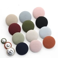 10pcs cloth buttons round shape metal diy clothing dress shirt small suit sweater decorative colorful buttons sewing accessories