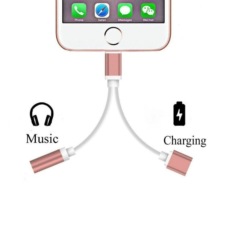 Cables adaptadores 2020 para conector de carga de Audio Apple X 8...