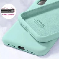 fashion liquid soft silicone candy colors phone case for oppo realme c15 gt neo c11 v5 v11 v15 v13 v3 c3 protection back cover