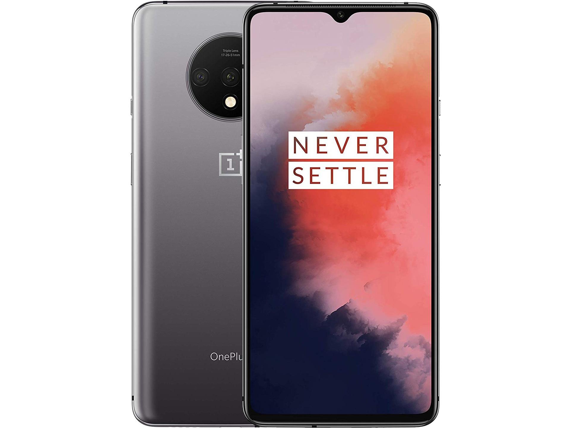 Оригинальный новый смартфон OnePlus 7 T 7 T, 8 ГБ, 128 ГБ, Восьмиядерный процессор Snapdragon 855 Plus, тройная камера 48 МП, экран AMOLED 6,55 дюйма, NFC телефон