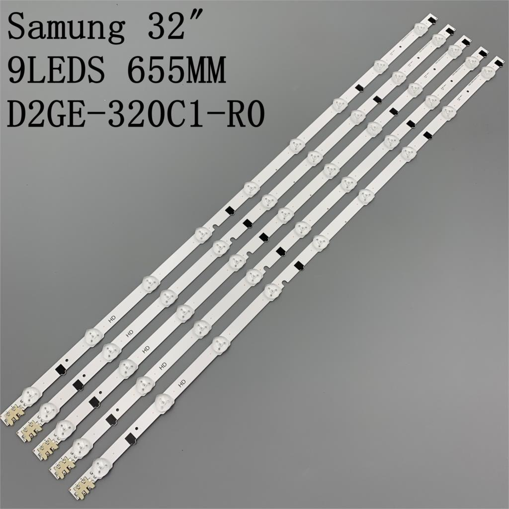 5pcs x 32 'LED for Sharp-FHD TV D2GE-320SC1-R0 CY-HF320BGSV1H UE32F5000AK ue32f5500aw UE32F5700AW HF320BGS-V1