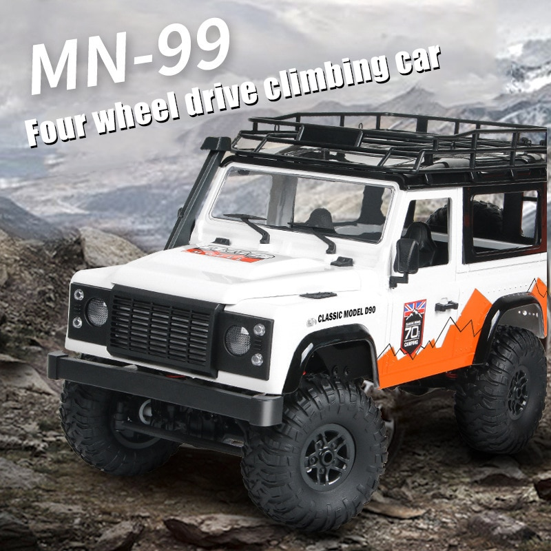 MN-99, coche de Control remoto a escala 112, coche de cuatro ruedas para escalada, modelo D90, coche de juguete con Control remoto NSV775