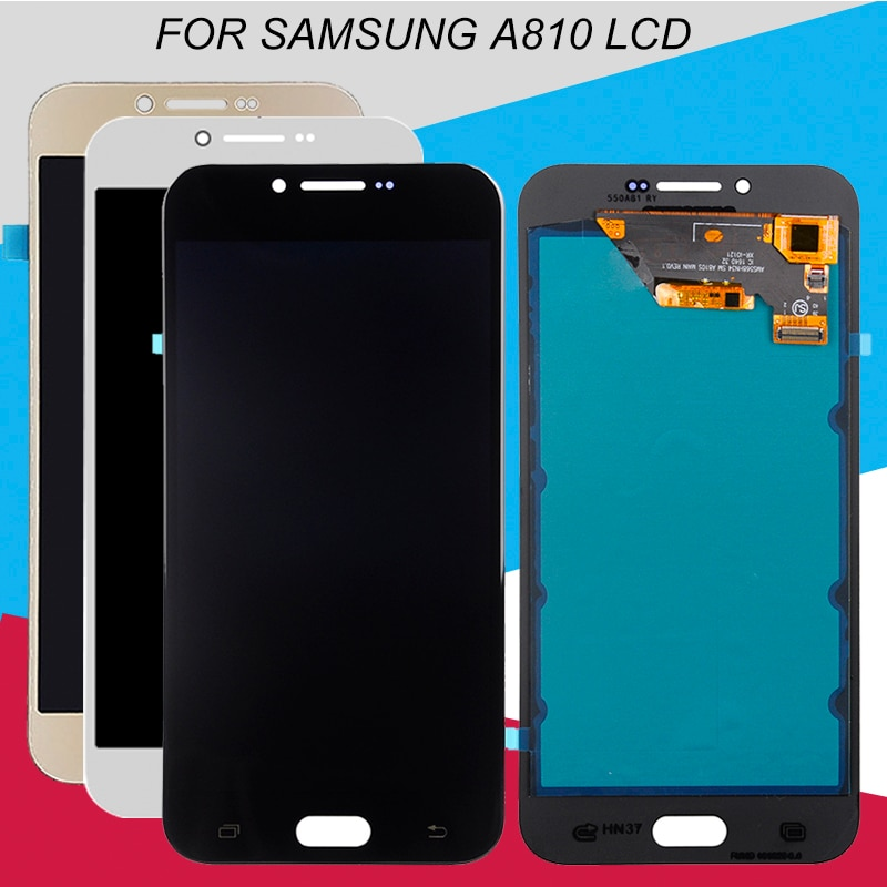 Catteny reemplazo A8 2016 Lcd para Samsung Galaxy A810 LCD SM-A810 A810DS A810F pantalla táctil Panel digitalizador montaje