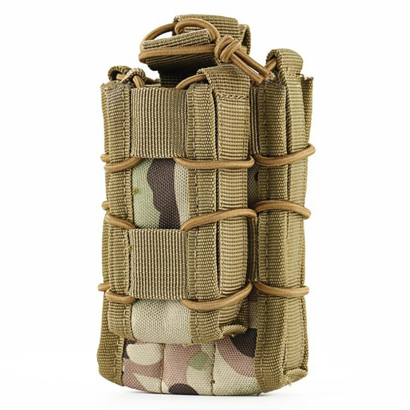Molle EDC Hunting Rifle Pistol Mag Magazine Carrying Pouch Bag Case Holder 5.56/7.62 9MM .45 Unversal Hunting Vest Accessories  - buy with discount
