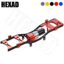 Metal RC Body Chassis Frame Kit Fits for WPL C14 C24 MN D90 99s Car Upgrade Truck Car Spare Parts Wheelbase Assemble Shell Frame