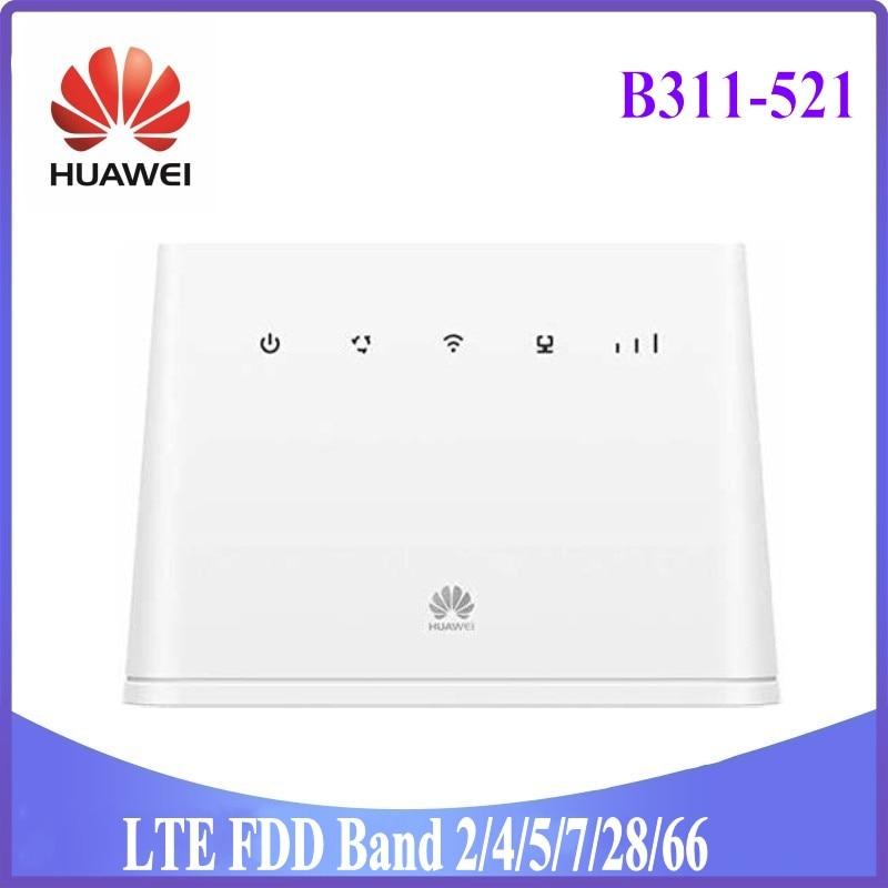 150Mbps هواوي B311 B311-521 4G LTE CPE واي فاي راوتر هوت سبوت PK هواوي B310S-518