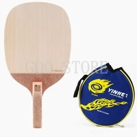 original galaxy yinhe 989 japanese straight table tennis blade professional table tennis rackets racquet sports pure wood