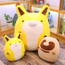50-105cm Soft Civet Cat Fox Plush Toy Lovely Raccoon Cute Stuffed Animals Doll Pillow Boyfriend Birthday Gift Sofa Bed Pillow
