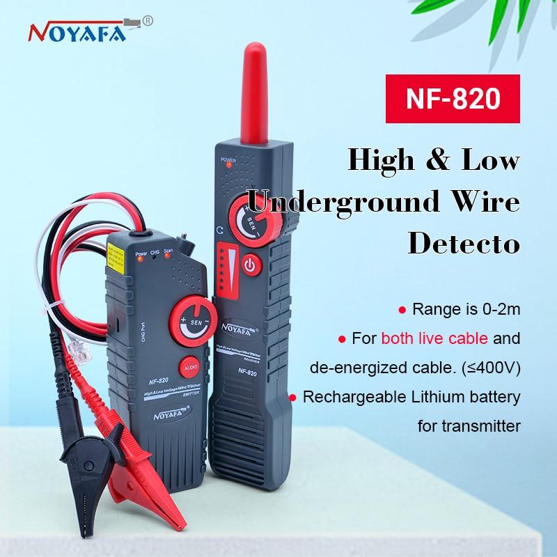 Probador de Cable subterráneo NF-820 RJ45 RJ11, BNC comprobador de alto y...