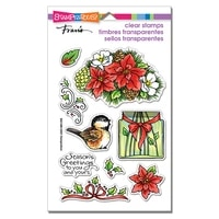 flower bird christmas clear stamps no cutting dies diy scrapbook template decoration paper card embossing craft handmade stamps