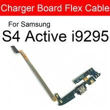 Carte de prise USB de charge pour Samsung Galaxy S4 actif I537 I9295 Usb chargeur prise connecteur de Port remplacement de carte de câble flexible