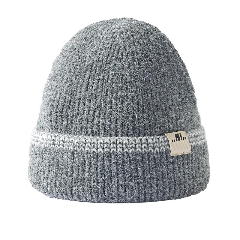 Fall/winter imitation rabbit hair acrylic spot dome satin warp knitted winter men and women warm eav