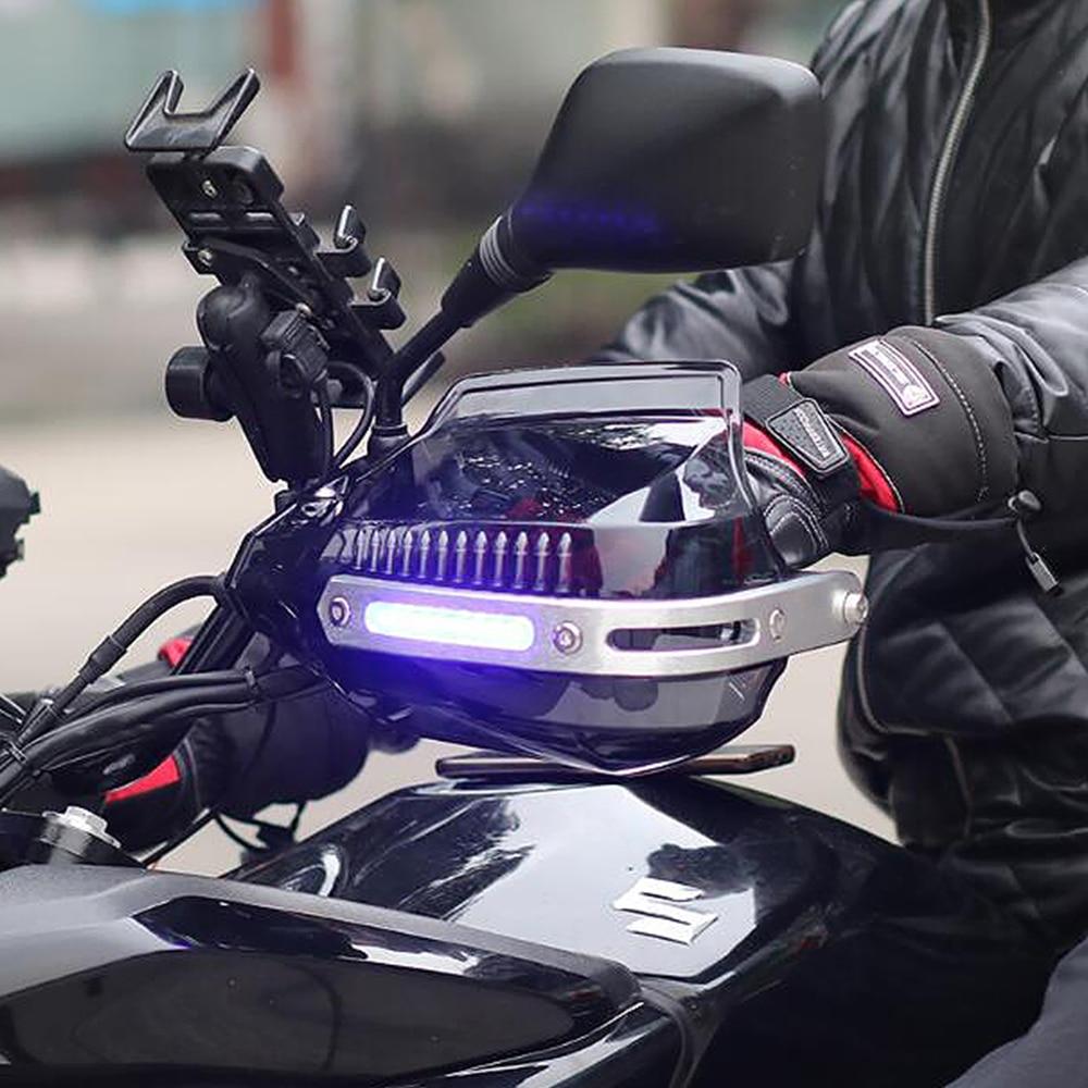 Protectores de manos para motocicleta LED para bmw r1200gs 2004-2012 r1100rt r1100gs r1200r r 1200 gs lc 1200 gs adventure k1200r