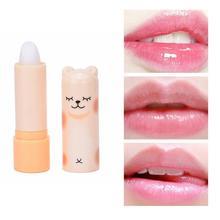 1PC naturel humidité incolore mignon dessin animé baume à lèvres embellir rouge à lèvres bébé lèvres soin aléatoire couleurs hydratant baume à lèvres TSLM1