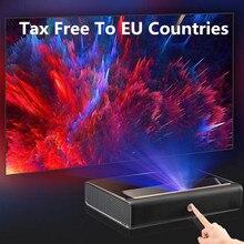WEMAX A300 4K projecteur Ultra courte portée projecteur Laser 3840*2160 9000 ANSI Lumen ALPD TV Home cinéma Support 3D avec haut-parleur