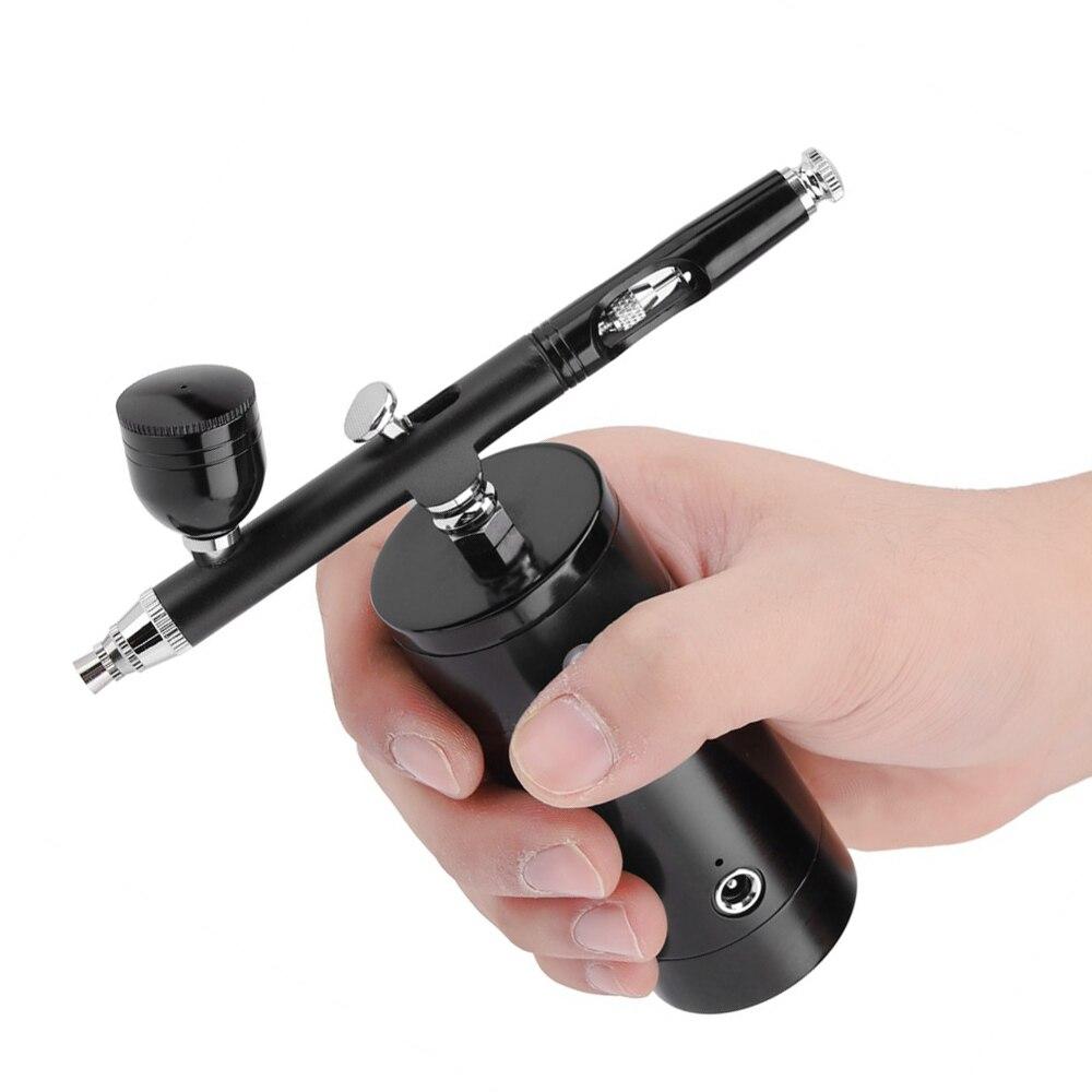 Комплект аэрографа, пистолет для макияжа, многофункциональное косметическое оборудование, мини воздушный компрессор