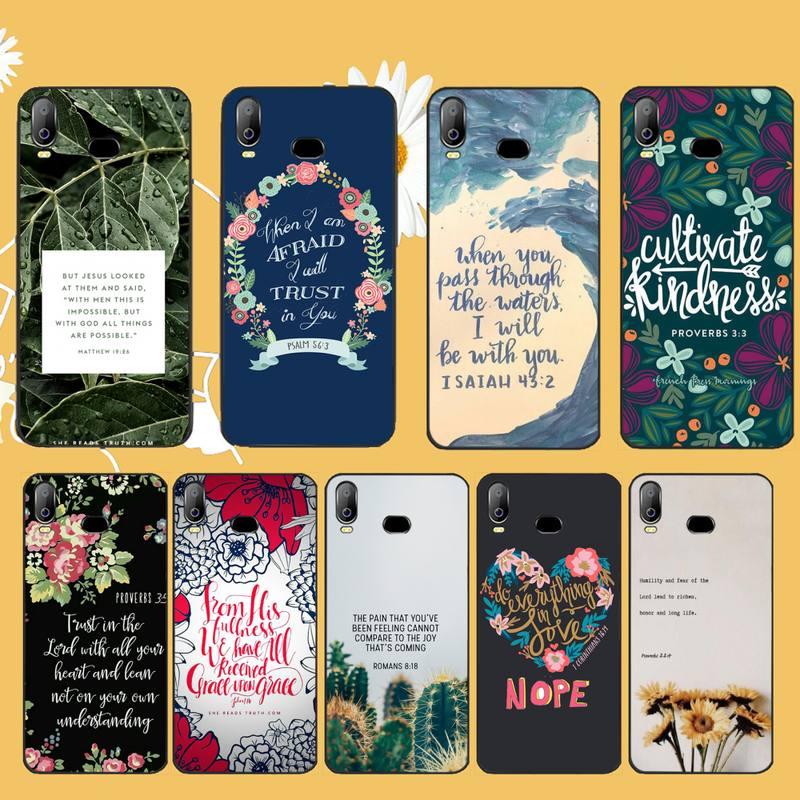 NBDRUICAI Bible Jesus Christian Phone Case For Samsung A10 A20 A30 A40 A50 A70 A71 A51 A6 A8 2018